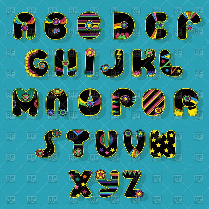 Royalty Free Vector image of Black Alphabet. Superhero style. Cartoon letters. #181366 includes graphic collections of #abc, #alphabet, #font, #typography and Fonts & Type. You can download this image clipart in EPS and JPG format. #vectorart #vectorclipart #vectorstock #graphicdesign #diseñográfico #graphisme #grafikdesign #графическийдизайн