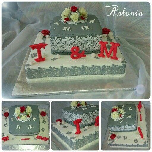 #hochzeit #hochzeitstorte #perlen #rosen #feier #torte #backen #spitze #торт #тортназаказ #выпечка #розы #жемчуг #букет #handmade #weddingcake #cake