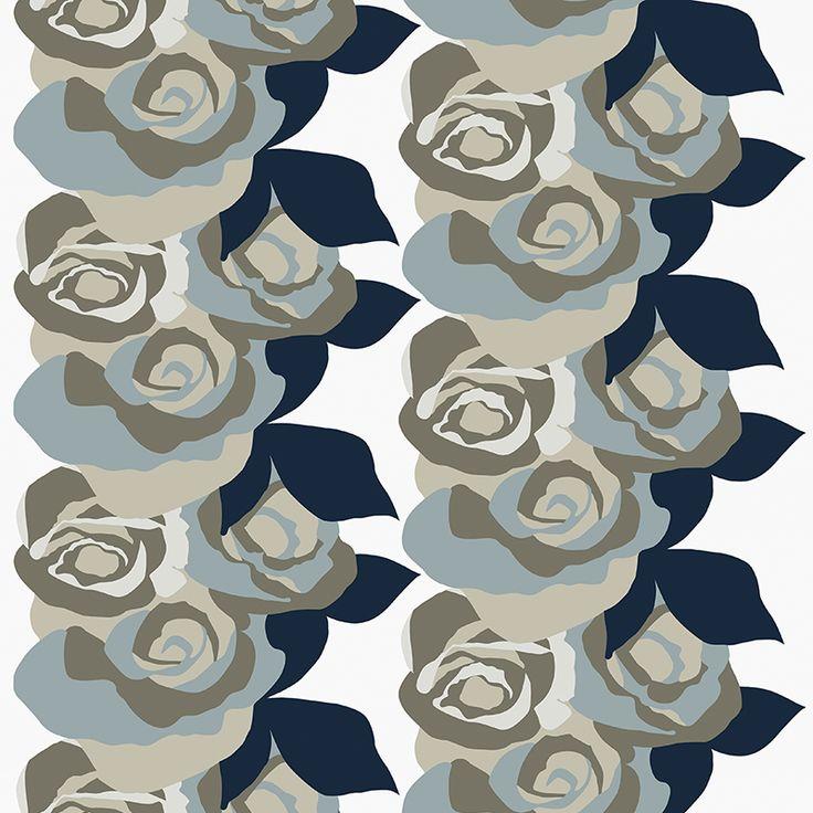 Amanda Mini Neutral // Metsovaara Premium Print collection from Materialised www.materialised.com  #metsovaara #print #collection #premium #pattern #textile #fabric #interiordesign #materialised