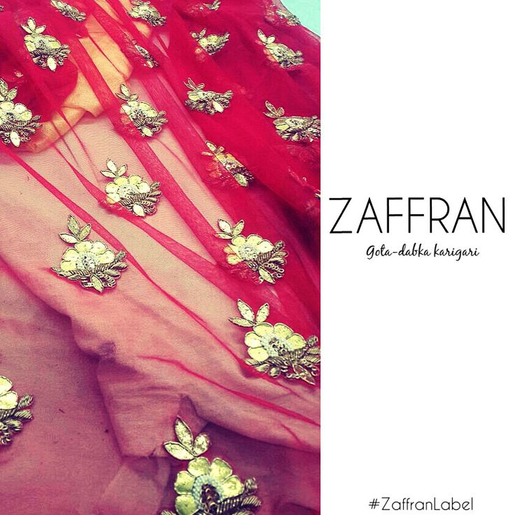 Bridal dupatta by #ZaffranLabel | To customize your bridals, write to us: customercare.zaffran@gmail.com