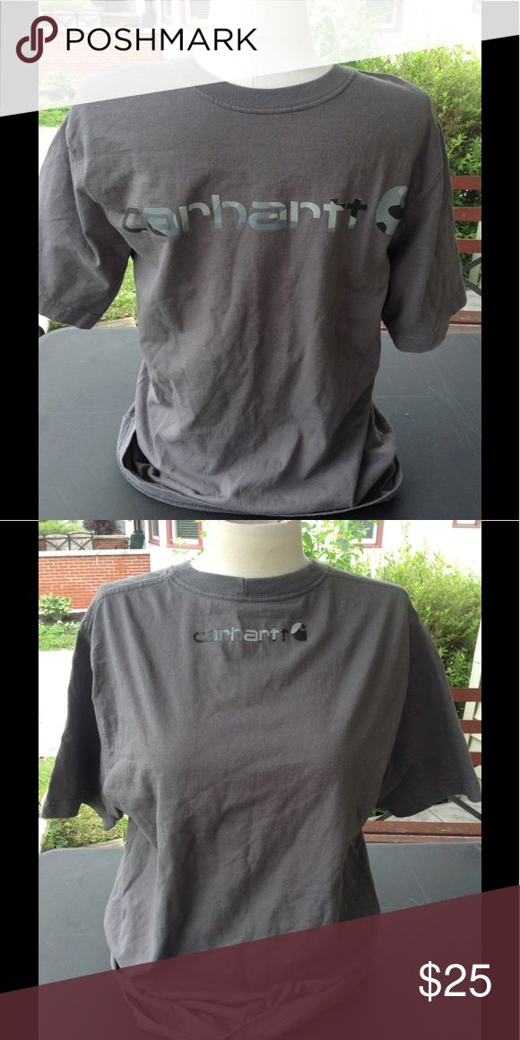 Mens carhartt shirt .965 a it is a size small, color is grey in great worn condition, sale is final, i do not accept returns. Carhartt Shirts Tees - Short Sleeve