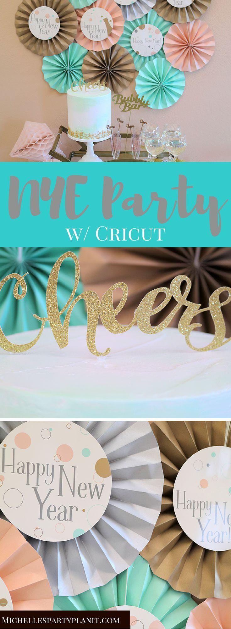 36 best New Year\'s Eve– Cricut DIY Holidays images on Pinterest ...