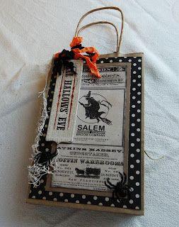 Creative Cafe': MME Halloween Gift Bag Album