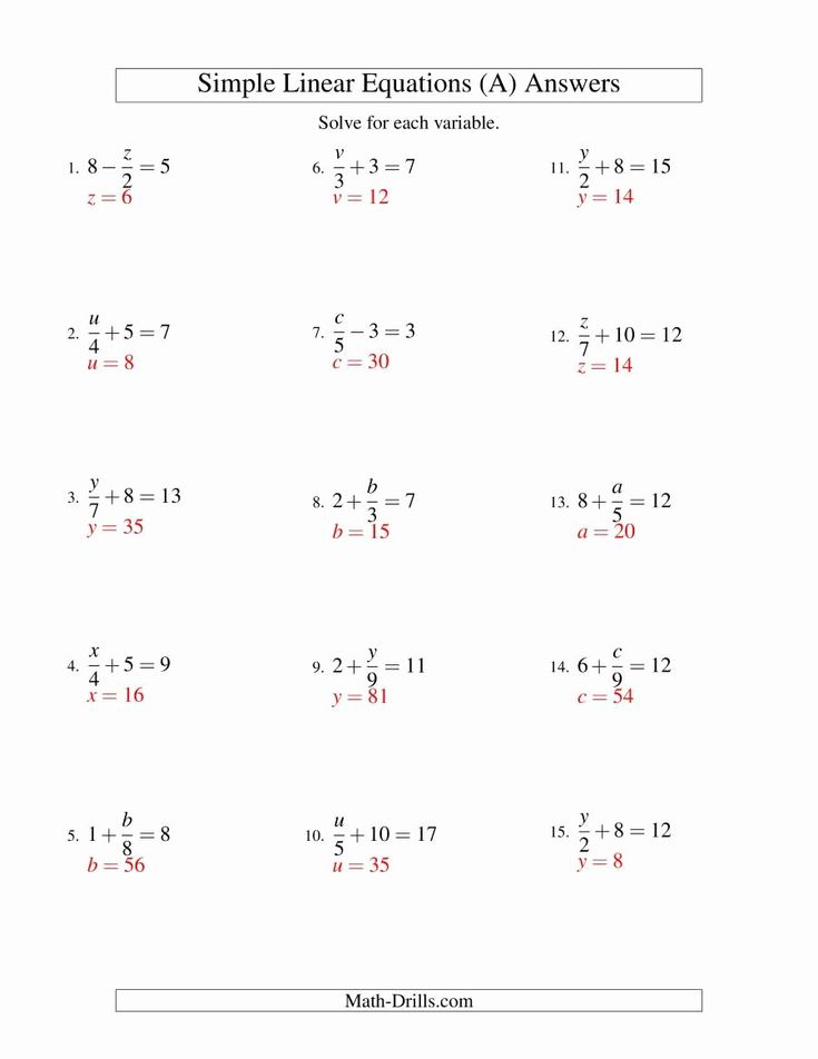 Solving Linear Inequalities Worksheet Unique solving ...