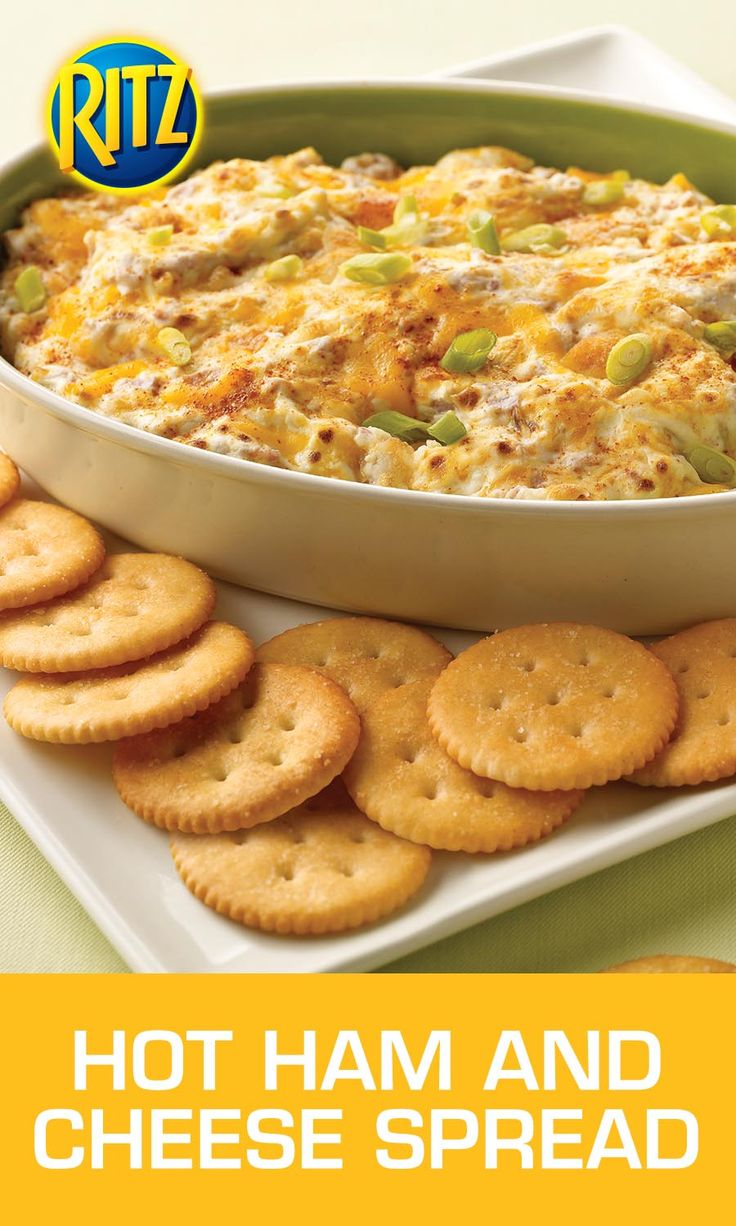 This Hot Ham and Cheese Spread is a sure bet no matter how you play it. To prepare, simply mix together a brick of softened cream cheese, shredded cheddar cheese, finely chopped deli-style ham and cayenne pepper in a bowl. Microwave until heated through, and serve with RITZ Crackers to truly enjoy an unbeatable combination.