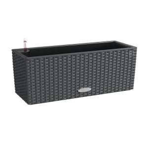 Lechuza, Trend Balconera Cottage-50 20 in. Rectangle Granite Balcony Self Watering Plastic Planter, 15602 at The Home Depot - Tablet