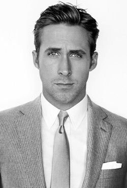 Ryan Gosling, a beautiful man who loves animals! i dont need to say anything else i'm his if he wants hahahaha :')