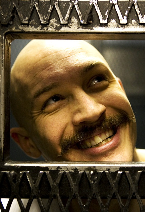Bronson played by Tom Hardy