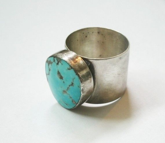 Turquoise  sterling.