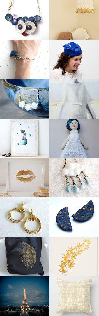 Blue Moon by Alexa Brains on Etsy--Pinned with TreasuryPin.com
