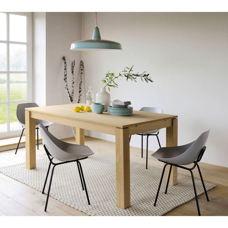 maisons du monde table dner danube with maison du monde rocking chair. Black Bedroom Furniture Sets. Home Design Ideas