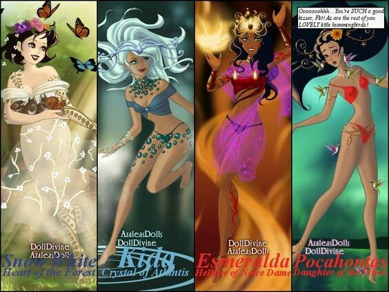 Sexy Disney Princesses deviantART | Sexy Disney Elementals IIby ...