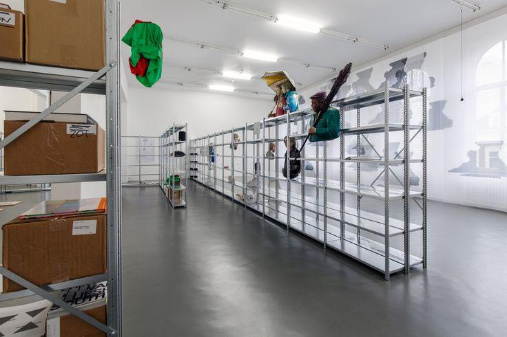 (etageres - murs style international) Bik Van der Pol at Witte de With