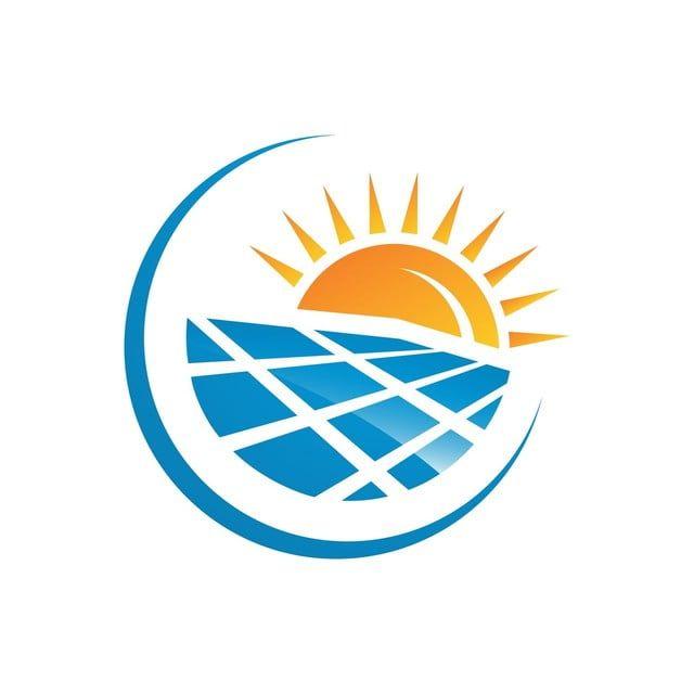 الألواح الشمسية شعار منزل والشمس لتوفير الطاقة الطاقة الخضراء Green Energy Logo Solar Logo Energy Logo