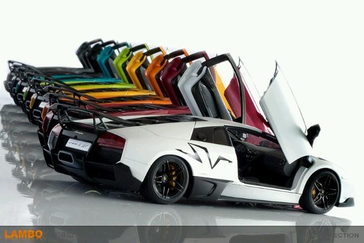 Rainbow Lamborghini Lamborghini Pinterest
