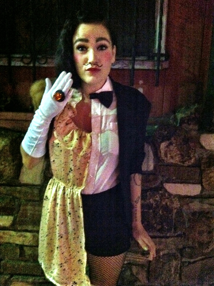 Half man half woman Halloween costume | Halloween ... - photo#11