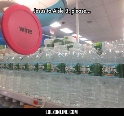 Jesus To Aisle 3, Please...