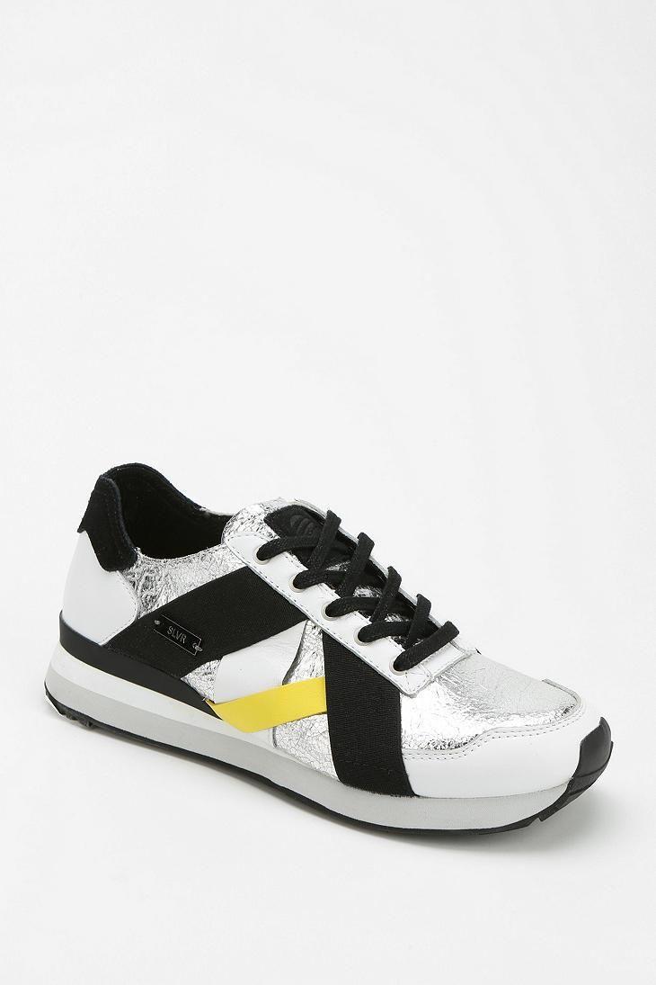 adidas SLVR Metallic Running Sneaker #urbanoutfitters