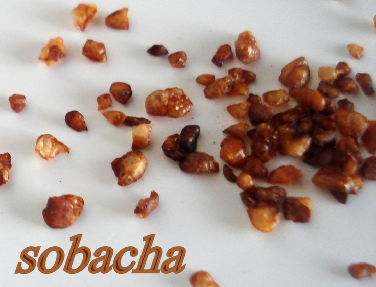 sobacha (buckwheat tea) for a delicious drink, or as a nutty addition to your dishes