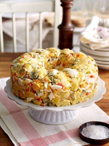 die besten 25 kartoffelsalat ideen auf pinterest kartoffelsalat rezept mediterranes gem se. Black Bedroom Furniture Sets. Home Design Ideas