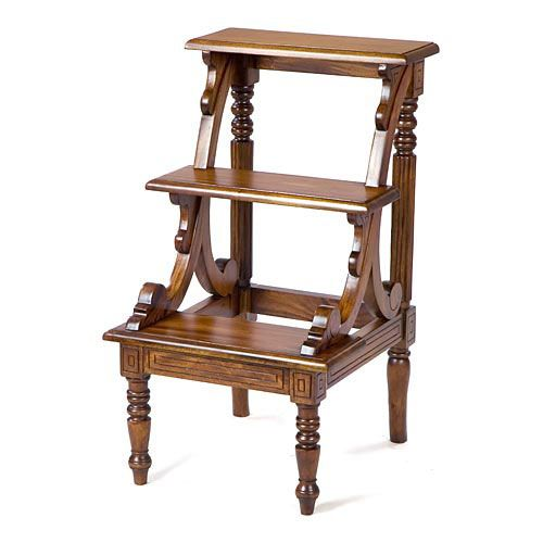 Ladder Chair Library Step Stool Woodworking Projects Amp Plans