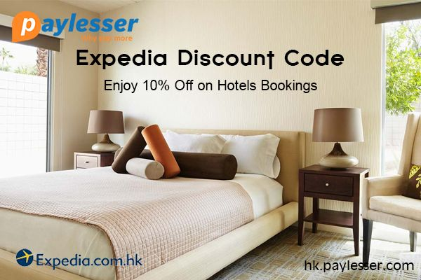 Apply this Expedia coupon code and get 10% discount on hotels booking only at #Expedia #Coupon #paylesser Why pay more?
