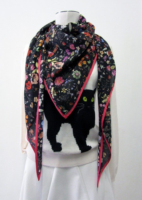 Floral Eve Scarf www.collection66.com