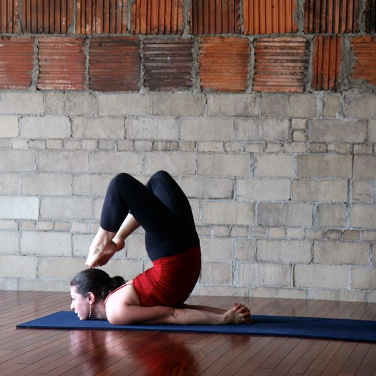 """Challenging """"awkward"""" yoga poses.  New to-do list.  Gives a good description of how to get into them."""