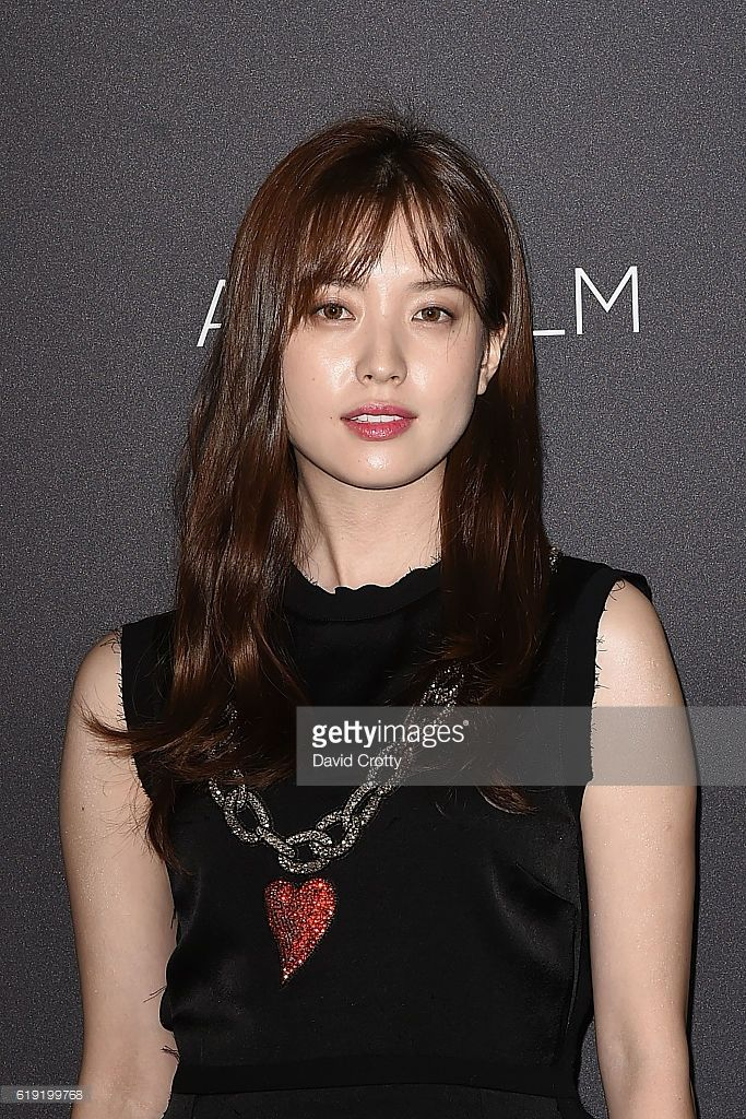 Hyo Joo Han attends the 2016 LACMA Art+Film Gala - Arrivals at LACMA on October 29, 2016 in Los Angeles, California.