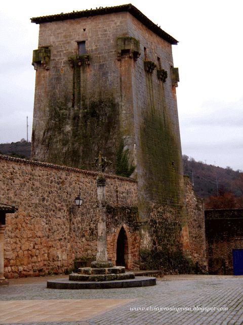Torreón de Fernán González Covarrubias , Burgos Spain