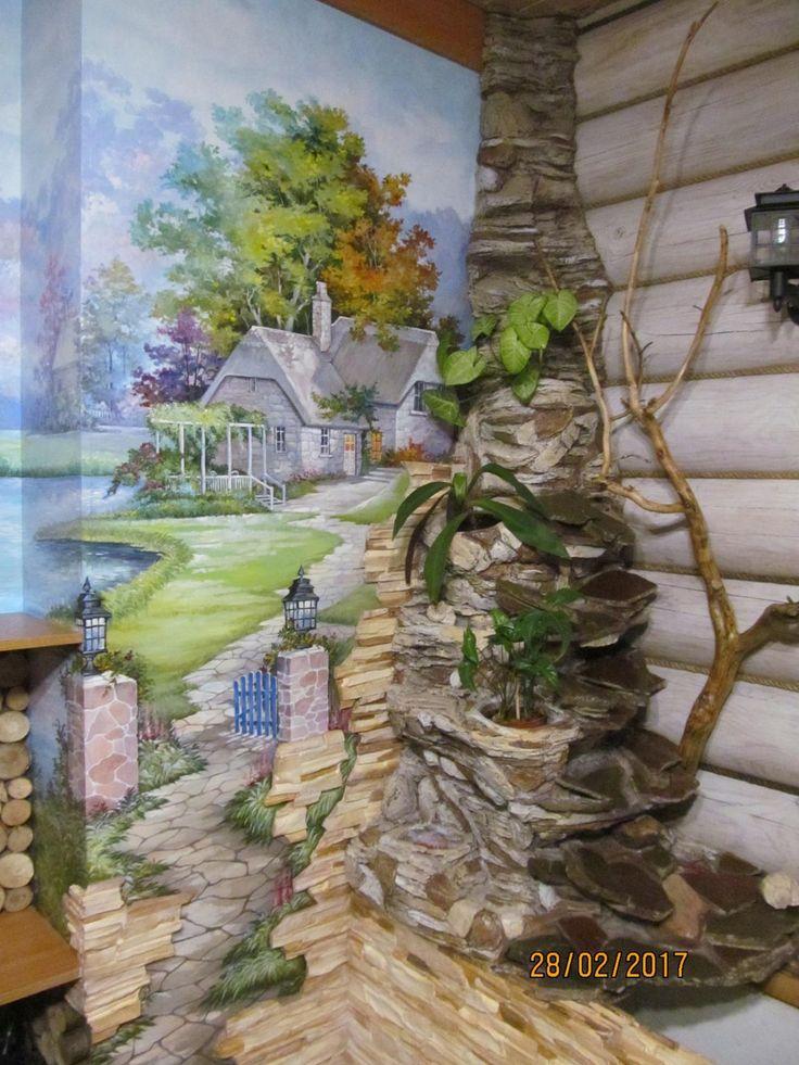 Best 25 castle mural ideas on pinterest princess mural for Castle wall mural wallpaper