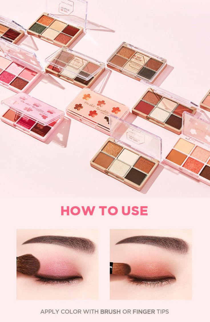 CHICA Y CHICO - One Shot Eye Palette (Spring Palette) (2 Types) #koreanbeauty #koreanmakeup #eyeshadow