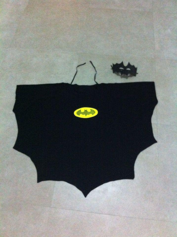 Batman pelerin ve maske 50 tl