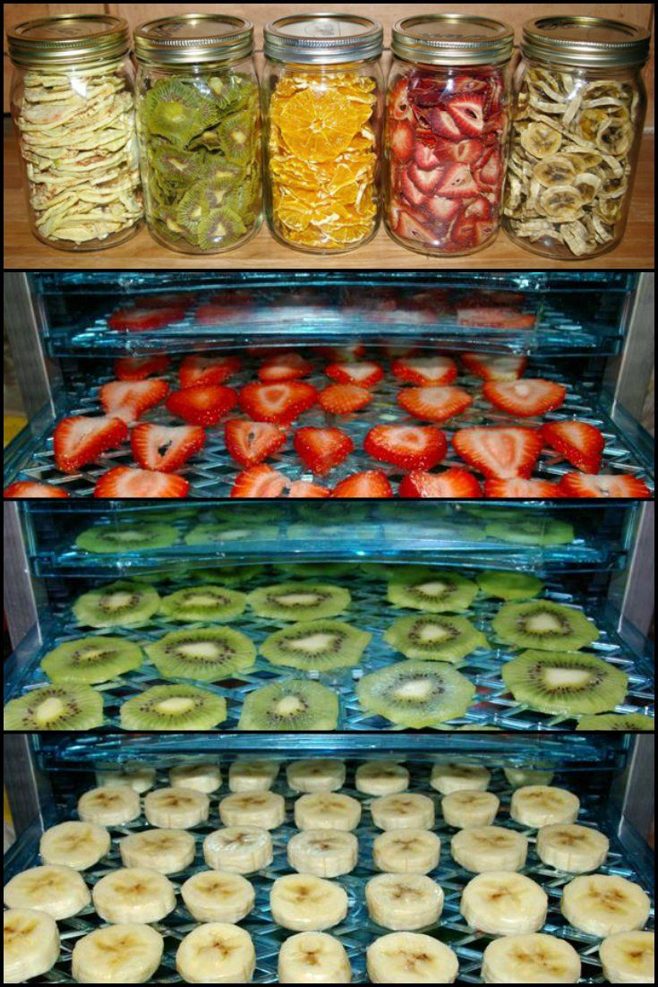 How To Make Your Own Healthy Dehydrated Fruits http://food.ideas2live4.com/recipe/how-to-make-your-own-healthy-dehydrated-food/ Besides freezing fruits and making smoothies, another way to use up all that farmers market bounty in your kitchen is to dry it. Dried fruit is a healthy option for those who like sweets, but want to avoid all that sugar from candies and chocolate. And also store-bought dried fruits are expensive. Why not make a cheaper, healthier, and more delicious version at home
