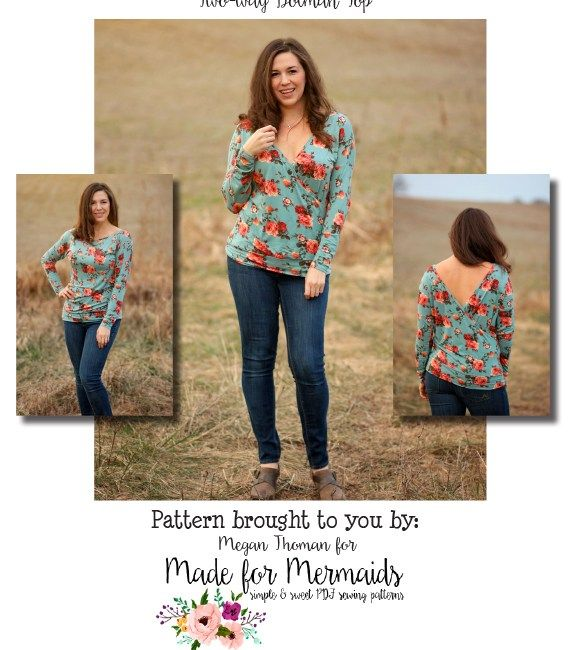 Made for Mermaids Mama Claire 2 way dolman