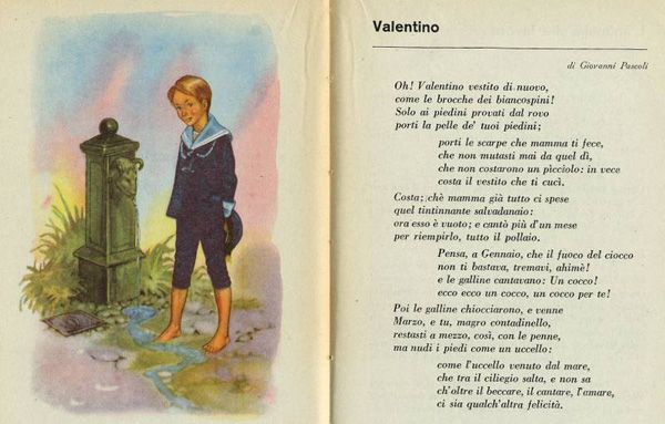 VALENTINO  - poesia di Giovanni Pascoli
