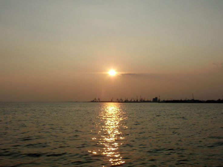 #thessaloniki sunset