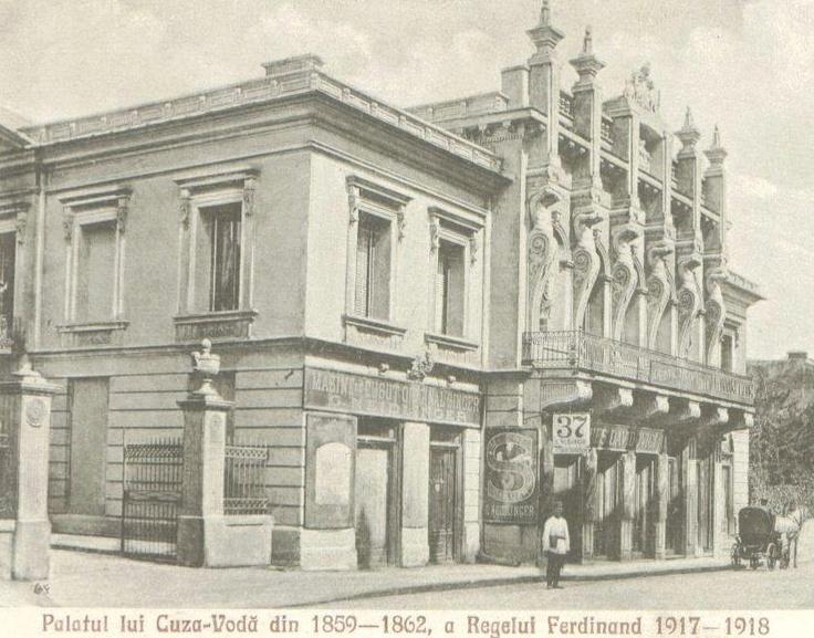 Iasi - Palatul Cuza - antebelica