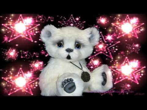 So Cute White Bear Birthday E card - YouTube