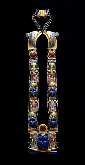 Scarab Pectoral Necklace of Tutankhamun