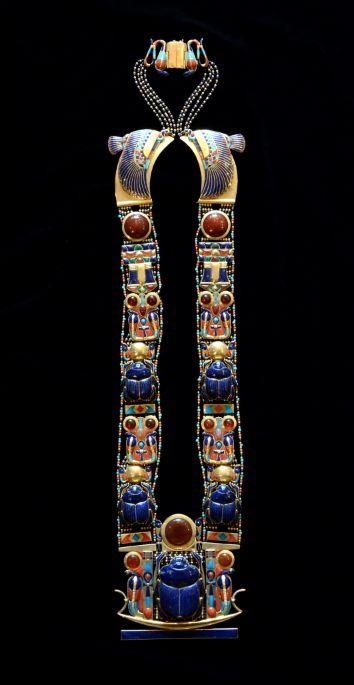 Scarab Pectoral Necklace of Tutankhamun