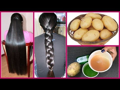 How to get Long Hair, Soft Hair, Smooth Hair and Healthy Hair with Potato - Magical Remedy - YouTube