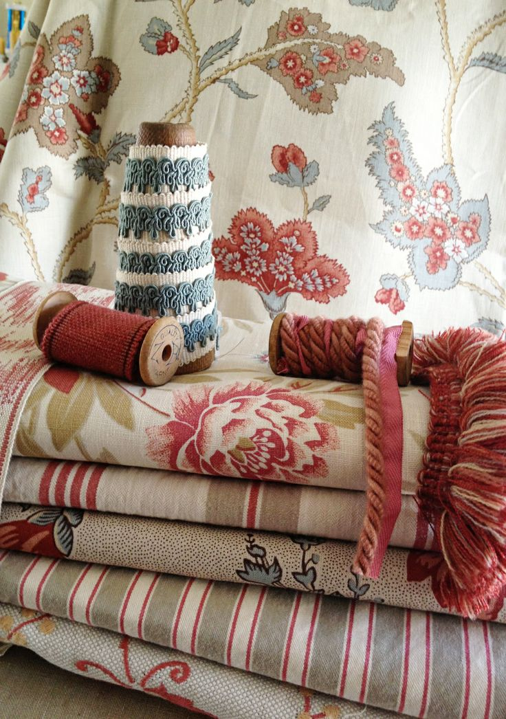 French-inspired linen & cotton fabrics & trims by French General for Fabricut