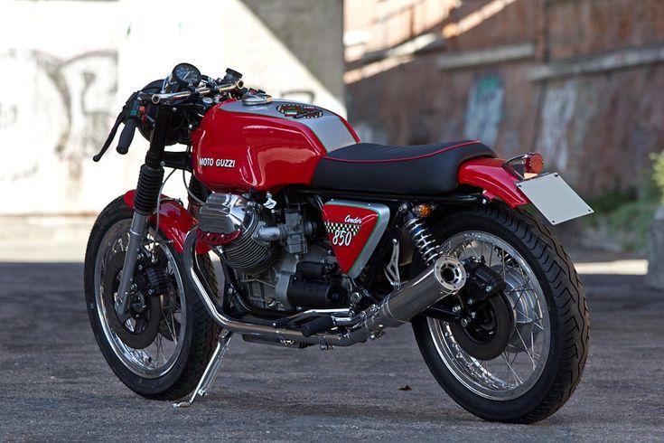 """Moto Guzzi 850 T3 """"Condor"""" 2011 by Officine Rossopuro"""