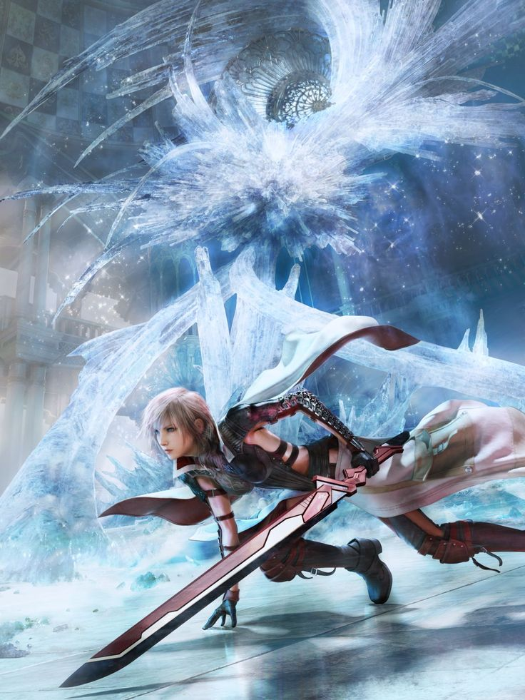 Lightning Returns: Final Fantasy XIII. It's finally here I'm so excited aaaaahh!