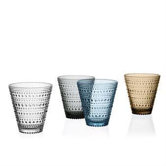 Kastehelmi glas 30 cl 2-pack - grå - Iittala