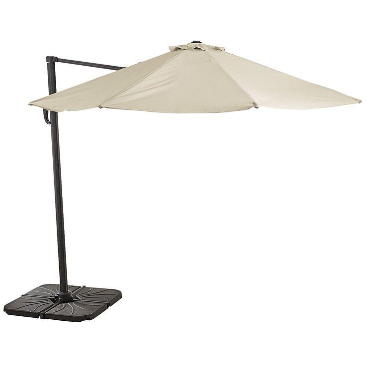 Amazing Cantilever Umbrella   Sand   Outdoor. Cantilever UmbrellaOutdoor  UmbrellasPier 1 ...