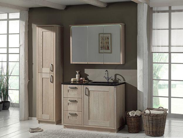 Mooie Badkamermeubels ~ Mooie verfkleur voor badkamer in combinatie met houten badkamermeubel