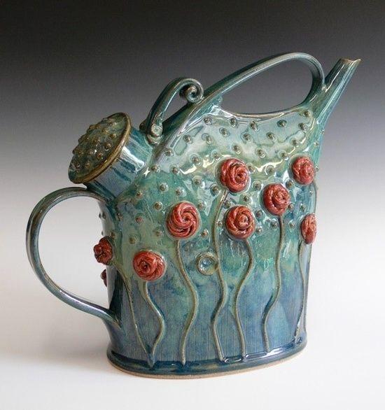 Red Roses teapot