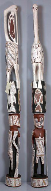 Dhukal Wirrpanda, Galumay http://gallery.aboriginalartdirectory.com/aboriginal-art/dhukal-wirrpanda/galumay.php